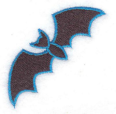 Embroidery Design: Bat 1.93w X 2.03h