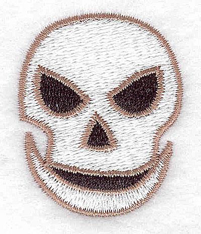 Embroidery Design: Skull 1.46w X 1.81h