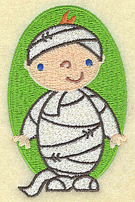 Embroidery Design: Mummy small 2.41w X 3.83h