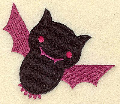 Embroidery Design: Bat small 3.24w X 2.74h