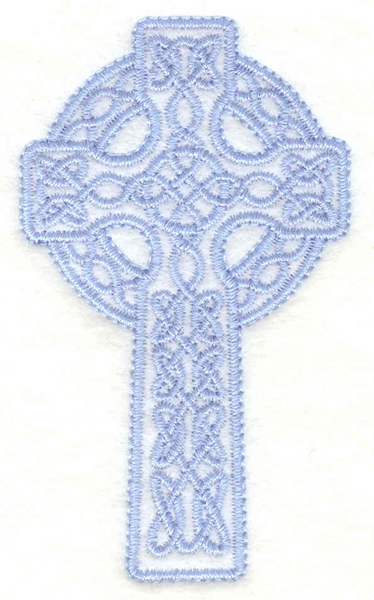 Embroidery Design: Celtic cross small1.74w X 3.00h