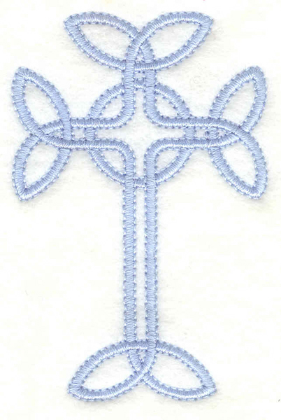 Embroidery Design: Cross1.97w X 3.00h