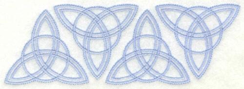 Embroidery Design: Trinity border6.26w X 2.14h