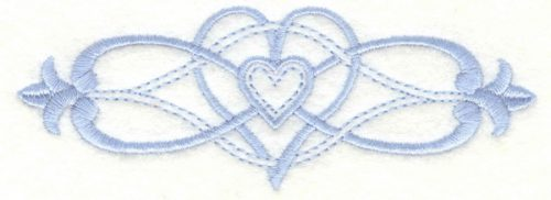 Embroidery Design: Cross border 24.99w X 1.78h