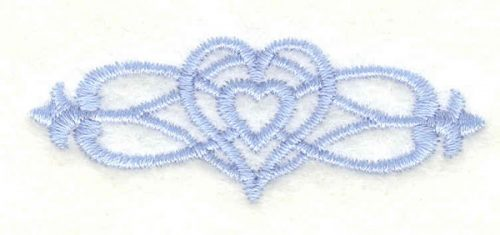 Embroidery Design: Cross border 2 mini2.27w X 0.84h