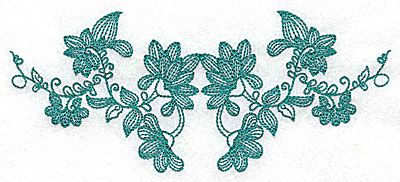 Embroidery Design: Heritage Border 1A 6.92w X 2.94h