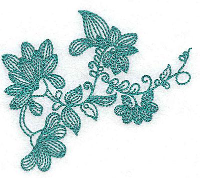 Embroidery Design: Heritage Border 1B 3.47w X 2.94h