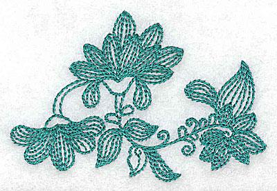 Embroidery Design: Heritage Border 1C 3.23w X 2.17h