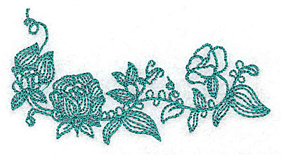 Embroidery Design: Heritage Border 2B 3.45w X 1.86h