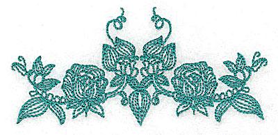 Embroidery Design: Heritage Border 2C 4.09w X 1.91h
