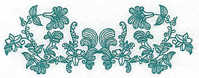 Embroidery Design: Heritage Border 3A 6.93w X 2.56h