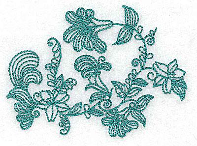 Embroidery Design: Heritage Border 3B 3.47w X 2.56h