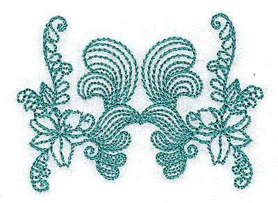 Embroidery Design: Heritage Border 3C 2.65w X 1.89h
