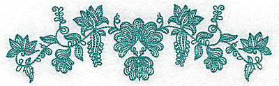 Embroidery Design: Heritage Border 4A 6.86w X 2.00h