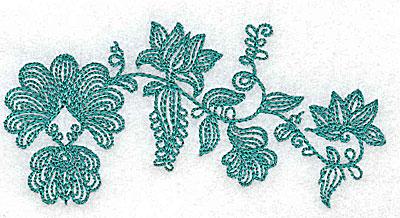 Embroidery Design: Heritage Border 4B 4.07w X 2.00h
