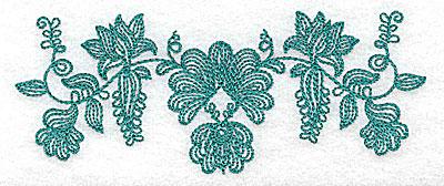 Embroidery Design: Heritage Border 4C 4.98w X 1.96h