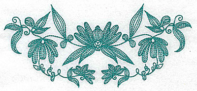 Embroidery Design: Heritage Border 5A 6.91w X 3.13h