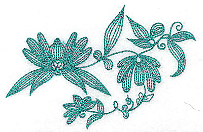 Embroidery Design: Heritage Border 5B 4.77w X 3.13h
