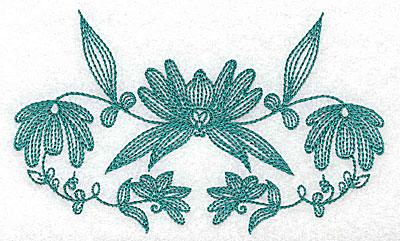 Embroidery Design: Heritage Border 5C 5.15w X 3.13h