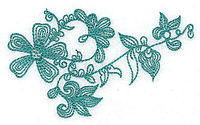 Embroidery Design: Heritage Border 6B 4.01w X 2.37h