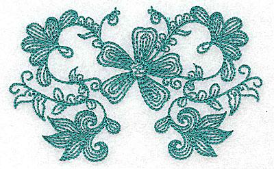 Embroidery Design: Heritage Border 6C 3.85w X 2.37h