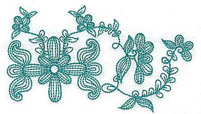 Embroidery Design: Heritage Border 7B 4.65w X 2.72h