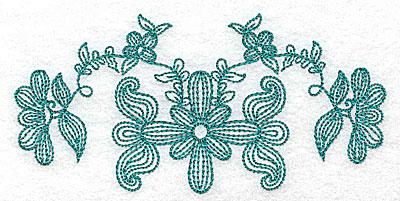 Embroidery Design: Heritage Border 7C 4.94w x 2.42h