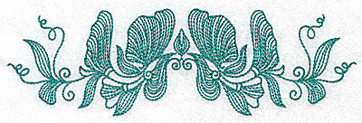 Embroidery Design: Heritage Border 8A 6.95w X 2.12h