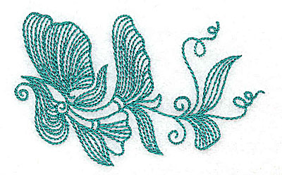 Embroidery Design: Heritage Border 8B 3.46w X 2.12h
