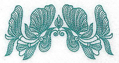 Embroidery Design: Heritage Border 8C 4.16w X 2.12h