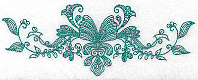 Embroidery Design: Heritage Border 9A 6.93w X 2.80h