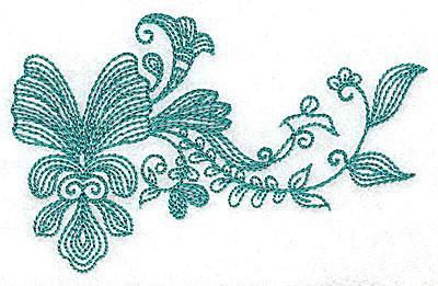 Embroidery Design: Heritage Border 9B 4.17w X 2.80h