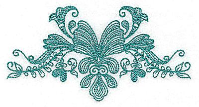 Embroidery Design: Heritage Border 9C 4.97w X 2.60h