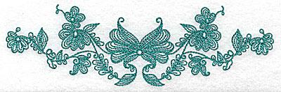 Embroidery Design: Heritage Borde 10A 6.96w X 2.12h