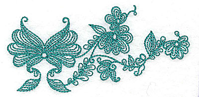 Embroidery Design: Heritage Border 10B4.36w X 2.12h