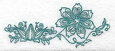 Embroidery Design: Heritage Border 11B 4.58w X 1.99h