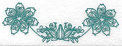 Embroidery Design: Heritage Border 11C 5.61w X 1.95h