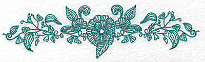 Embroidery Design: Heritage Border 12A 6.94w X 1.91h