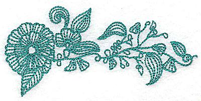 Embroidery Design: Heritage Border 12B 4.00w X 1.91h