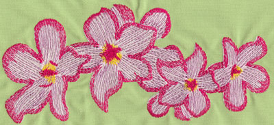 "Embroidery Design: Heavenly Hibiscus Group 310.53"" x 4.77"""