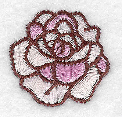 Embroidery Design: Rose 1.62w X 1.56h