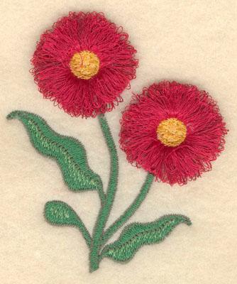 Embroidery Design: Eucalyptus fringe3.28w X 3.90h