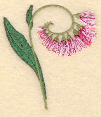 Embroidery Design: Flower A fringe3.12w X 3.62h