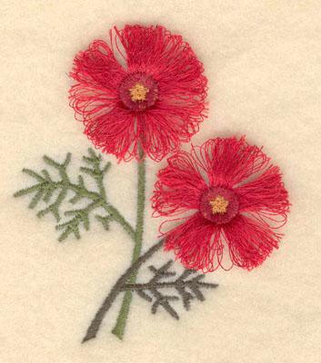 Embroidery Design: Firepink fringe2.73w X 3.14h