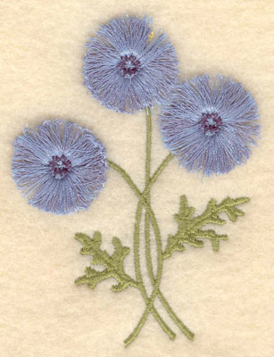 Embroidery Design: Cornflower fringe2.84w X 3.89h