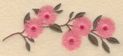 Embroidery Design: Cherry Blossom fringe6.89w X 2.95h