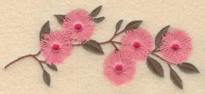 Embroidery Design: Cherry Blossom fringe6.89w X 2.95h