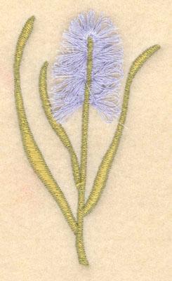 Embroidery Design: Flower D fringe2.31w X 3.85h