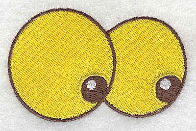 Embroidery Design: Googlie eyes 3.05w X 1.92h