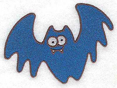 Embroidery Design: Bat 3.55w X 2.63h